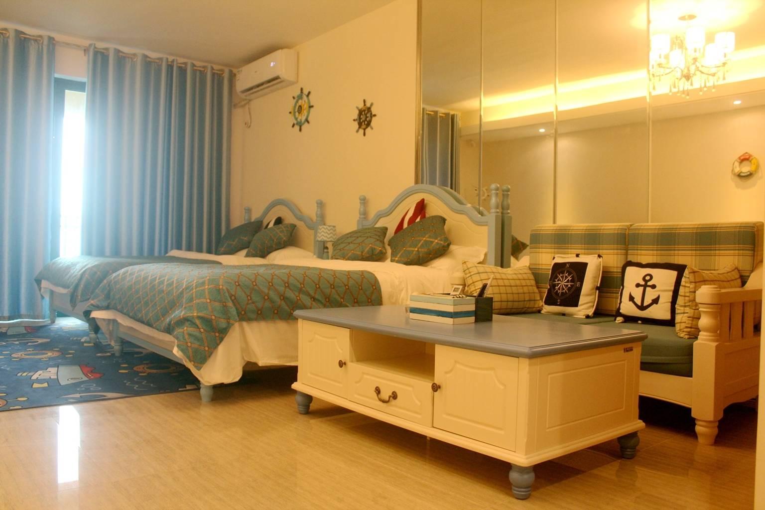 【阳江】包月过冬首选,999元包月入住海陵岛临海豪华双床房!每间可住2大2小,超大阳台!