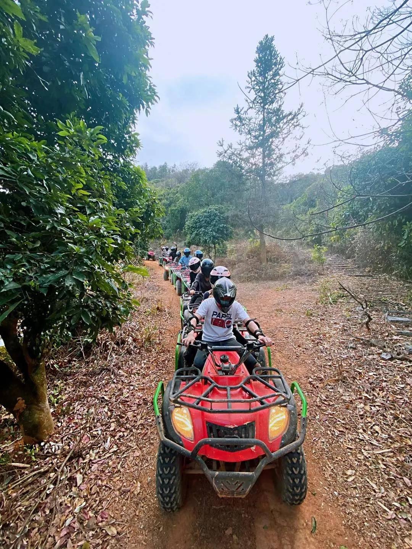 【广州】通用不加价,99元抢从化风火轮山地越野车双人票,打卡丛林穿越探险之旅!