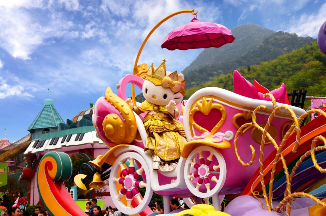 【含Hello  Kitty乐园门票】638元含安吉斯维登度假公寓住宿一晚+双早+2张 Hello  Kitty乐园门票,孩子最爱的游乐园!全家一起春日游!