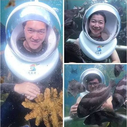 【阳江海陵岛】爆款预售:¥158抢购单人海陵岛大角湾门票+海底漫步潜水套票~无需预约,有效期超长~潜水爱好者不可错过!!