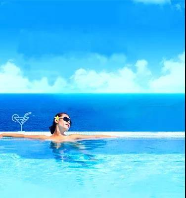 【阳江】¥699海陵岛沐舍酒店豪华海景房+早餐+精选天际下午茶,33层空中恒温天际泳池+送双人水晶湖门票,下楼是海,推窗是景!